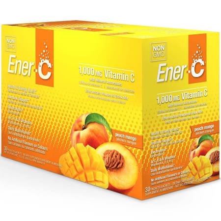 631107 Peach Mango Effervescent Powdered Drink Mix 30 Packets
