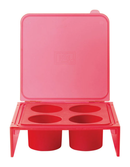 6507479 Deep Herb Freezer Tray, Red