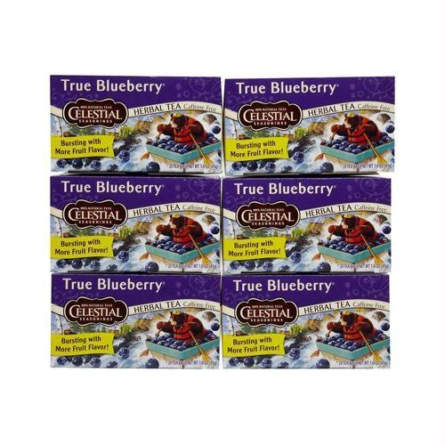 721241 Herbal Tea - Caffeine Free - True Blueberry - 20 Bags