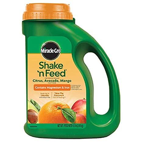 754364 Miracle Gro 4.5 lbs Shake N Feed Citrus & Avocado Food