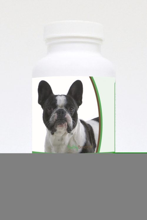 840235121237 French Bulldog Natural Joint Support Chewable Tablets - 60 Count