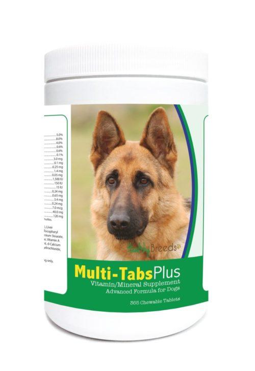 840235123415 German Shepherd Multi-Tabs Plus Chewable Tablets - 365 Count