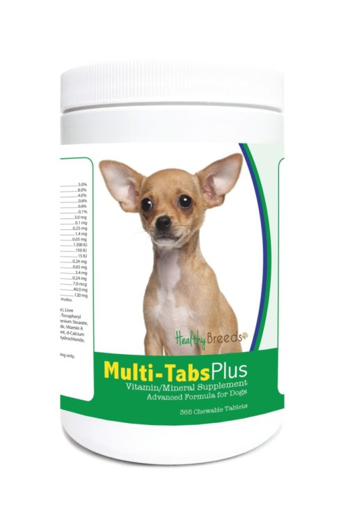 840235123552 Chihuahua Multi-Tabs Plus Chewable Tablets - 365 Count