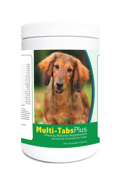 840235123828 Dachshund Multi-Tabs Plus Chewable Tablets - 365 Count