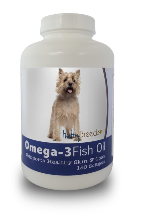 840235141181 Cairn Terrier Omega-3 Fish Oil Softgels, 180 Count