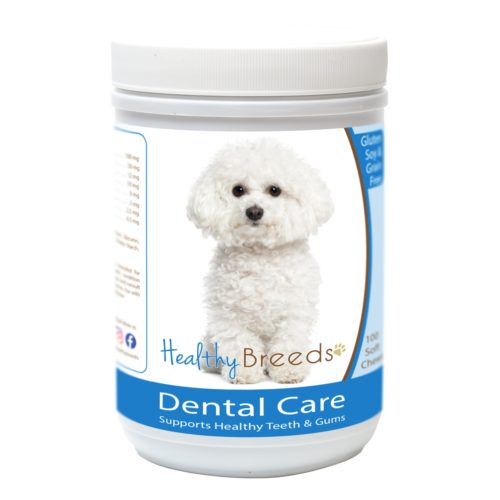 840235162773 Bichon Frise Breath Care Soft Chews for Dogs - 60 Count