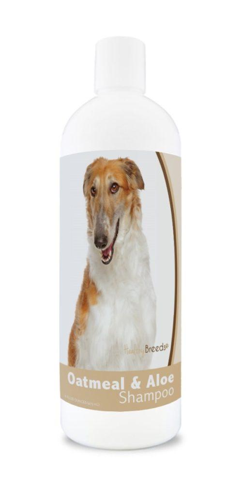 840235176862 16 oz Borzois Oatmeal Shampoo with Aloe