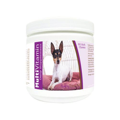 840235177210 Toy Fox Terrier Multi-Vitamin Soft Chews - 60 Count