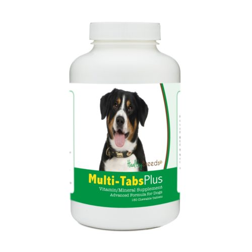 840235180074 Entlebucher Mountain Dog Multi-Tabs Plus Chewable Tablets - 180 Count