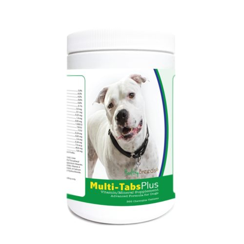 840235180456 Pit Bull Multi-Tabs Plus Chewable Tablets - 365 Count