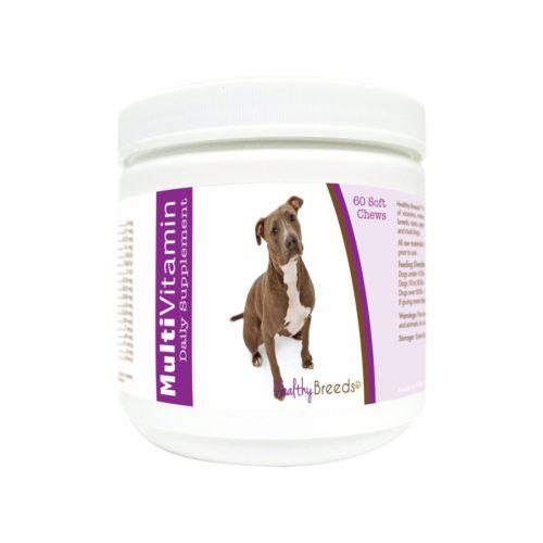 840235180487 Pit Bull Multi-Vitamin Soft Chews - 60 Count