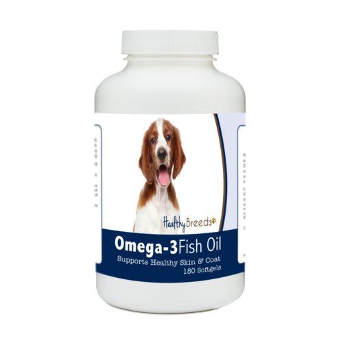 840235184942 Welsh Springer Spaniel Omega-3 Fish Oil Softgels, 180 Count
