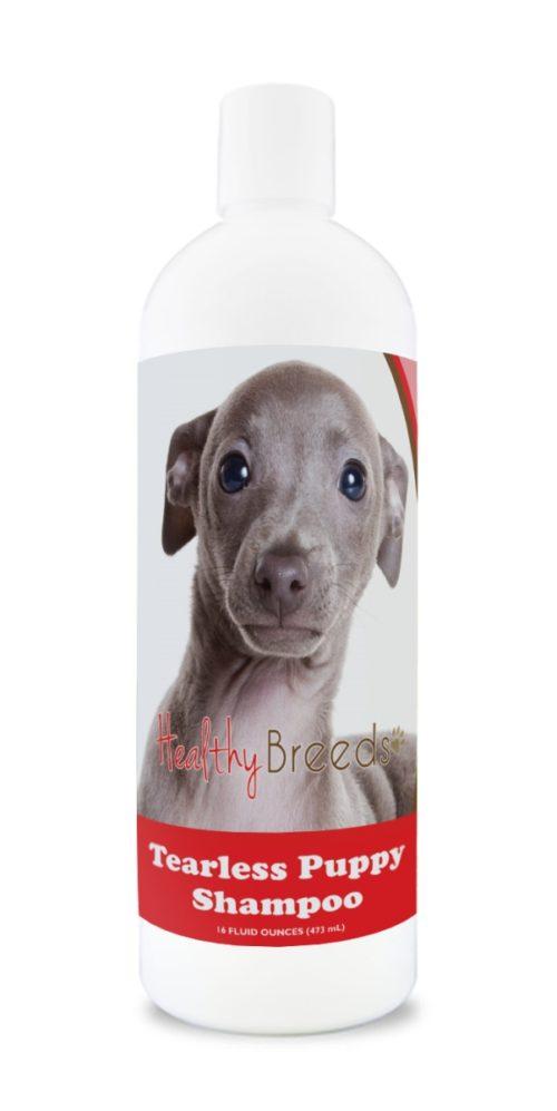 840235186502 Italian Greyhound Tearless Puppy Dog Shampoo
