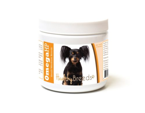 840235187141 Russian Toy Terrier Omega HP Fatty Acid Skin & Coat Support Soft Chews