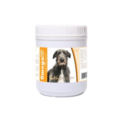 840235187981 Scottish Deerhound Omega HP Fatty Acid Skin & Coat Support Soft Chews