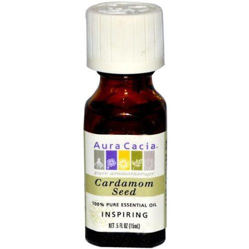 AURA(tm) Cacia Cardamom Seed Essential Oil 1/2 oz. bottle 191155