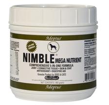Adeptus Solid Wood Nutrition 20208 Nimble Mega Nutrient For Pets 1.5 lbs.