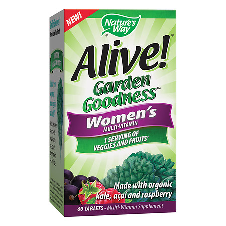 Alive! Garden Goodness Women's Multivitamin - 60.0 ea