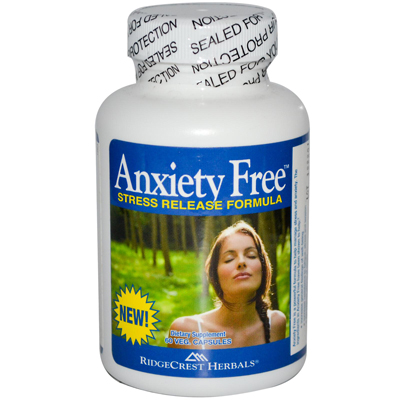 Anxiety Free Stress Relief Formula - 60 Vegetarian Capsules