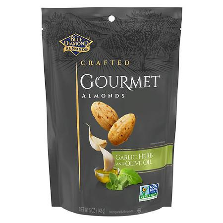 Blue Diamond Crafted Gourmet Almonds Garlic, Herb And Olive Oil - 5.0 oz