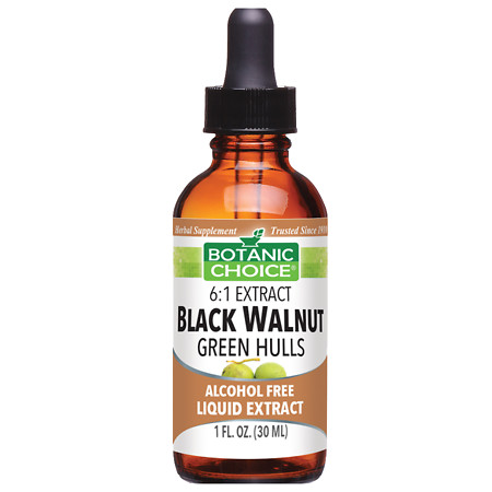 Botanic Choice Black Walnut Green Hulls Herbal Supplement Liquid - 1.0 Ounce