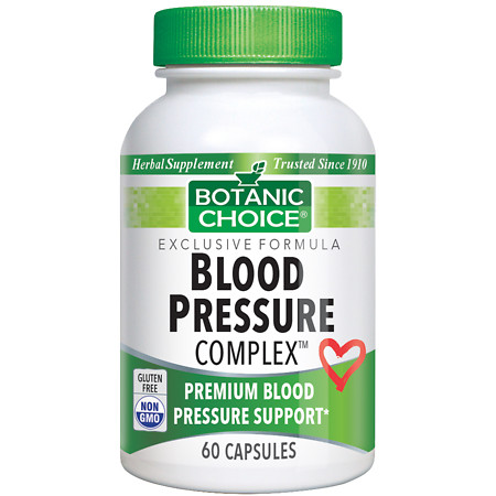 Botanic Choice Blood Pressure Complex Dietary Supplement Capsules - 60.0 Each