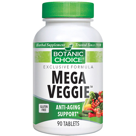 Botanic Choice Mega Veggie Herbal Supplement Tablets - 90.0 Each