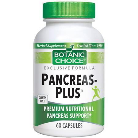 Botanic Choice Pancreas-Plus Dietary Supplement Capsules - 60.0 Each