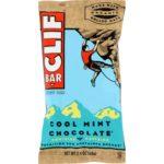 Clif Bar HG0125385 2.4 oz Organic Cool Mint Chocolate - Case of 12