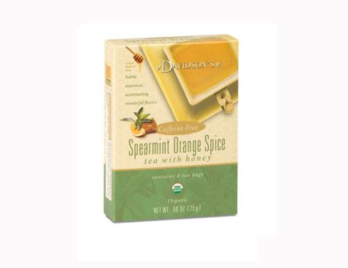 Davidson Organic Tea 2045 Spearmint Orange Spice Tea, Box of 8