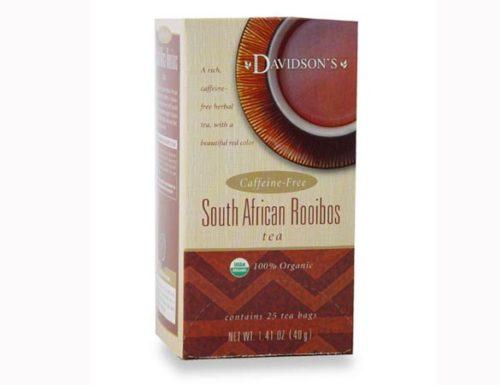 Davidson Organic Tea 2535 South African Rooibos Tea, Box of 25 Tea Bags
