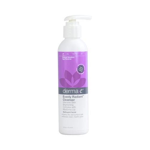 Derma E HG1102482 6 fl oz Evenly Radiant Cleanser