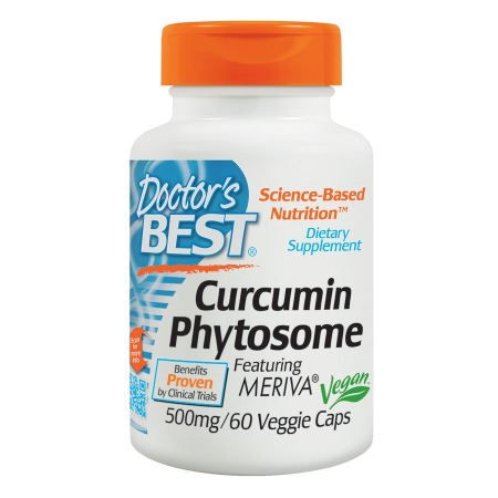 Doctor's Best Curcumin Phytosome Featuring Meriva, 500mg, Veggie Caps - 60.0 ea