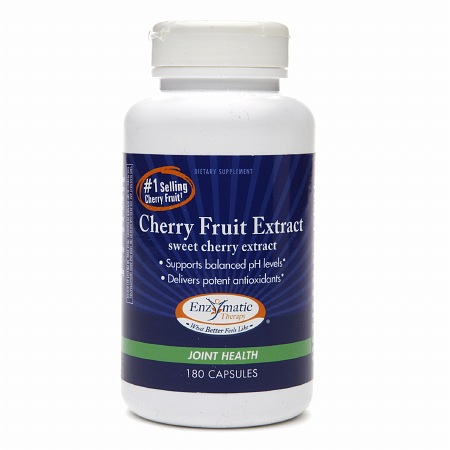 Enzymatic Therapy Cherry Fruit Extract, Capsules - 180.0 ea