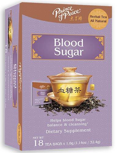 Frontier Natural Products 229176 Blood Sugar Herbal Tea 18 Tea Bags
