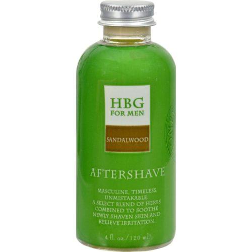 HG0418285 4 fl oz Herbal Aftershave Sandalwood