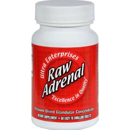 HG0439075 200 mg Raw Adrenal - 60 Tablets