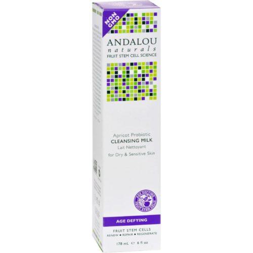 HG0786616 6 fl oz Cleansing Milk for Dry Sensitive Skin Apricot Probiotic