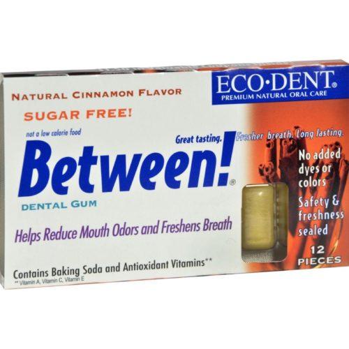 HG0898072 Between Dental Gum, Cinnamon - Case of 12, Pack of 12