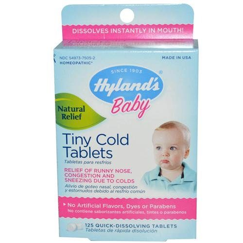 HG1271980 Homeopathic Baby Tiny Cold Tablets - 125 Tablets