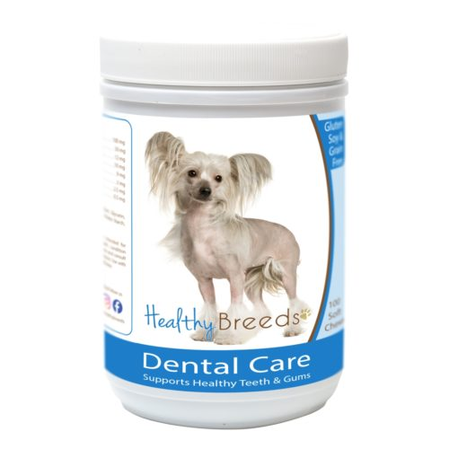 Healthy Breeds840235162469 ChineseCrested Breath CareSoft Chews for Dogs - 100 Count