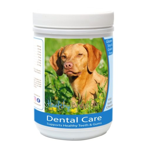 Healthy Breeds840235162971 VizslaBreath Care Soft Chewsfor Dogs - 100 Count