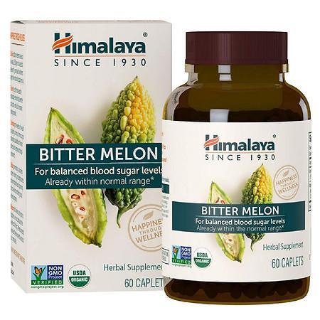 Himalaya Herbal Healthcare Bitter Melon Caplets - 60.0 ea