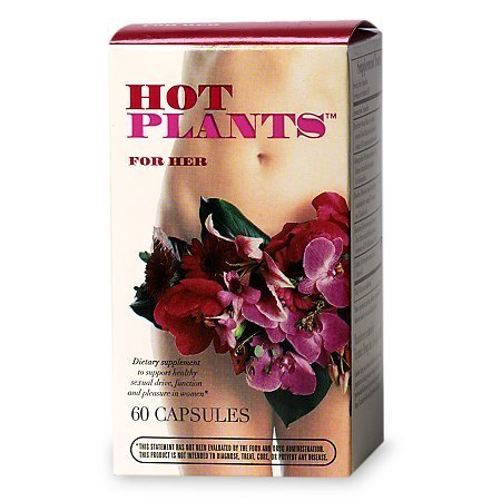 Hot Plants For Her, Capsules - 60.0 ea