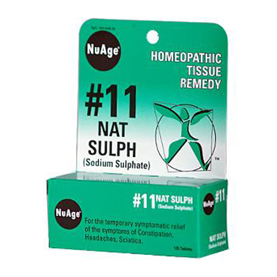 Hyland'S Nuage No 11 Natrum Sulph - 125 Tablets