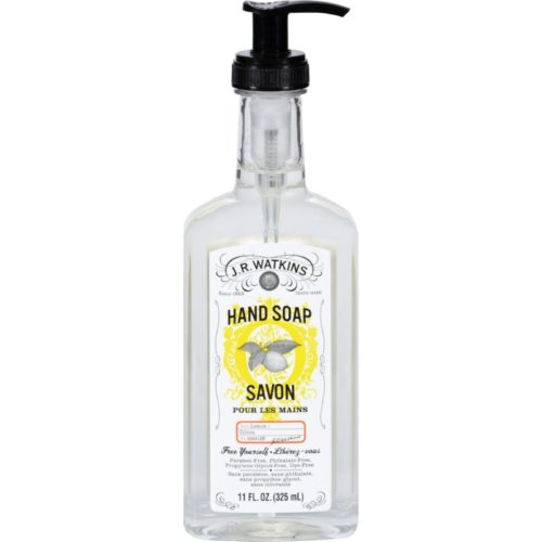 J.r. Watkins HG1108224 11 fl oz Liquid Hand Soap, Lemon