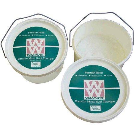 -11-1748-3 1 x 3 lbs Paraffin Tub of Pastilles - Peach Fragrance