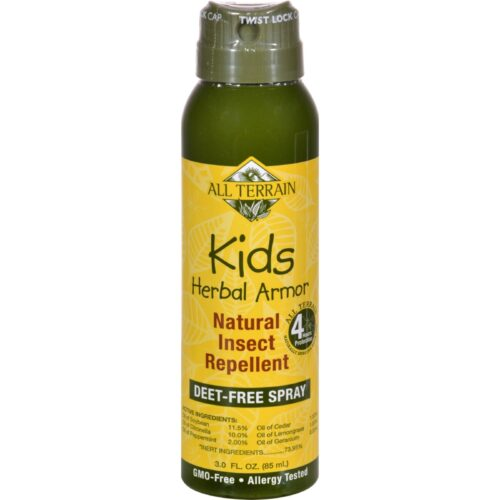 1525260 3 fl. oz Herbal Armor Natural Insect Repellent Kids Continuous Spray