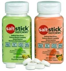 315214 Fastchews Chews Seedless Electrolyte Tablets, Watermelon - Bottle of 60