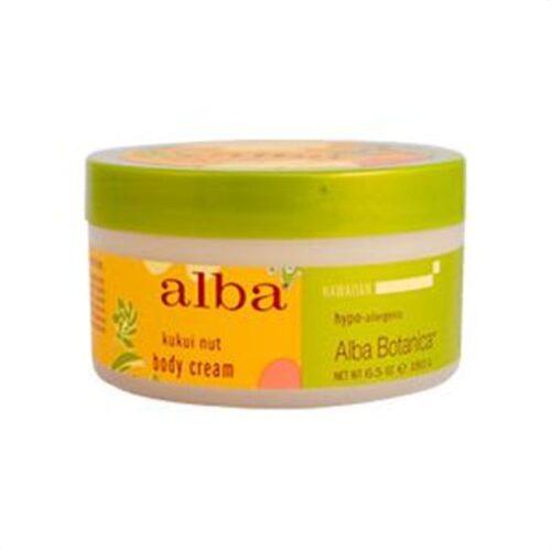 Alba Botanica Hawaiian Spa Treatments Kukui Nut Body Cream 6.5 fl. oz. 6.5fl. oz. 217329